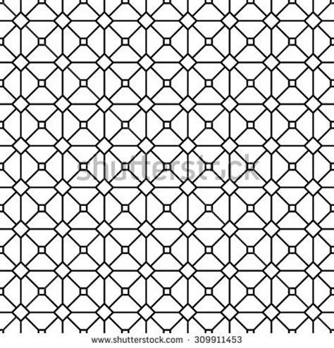 Grid Pattern Monochrome | seamless monochrome grid pattern stock vector 309911453