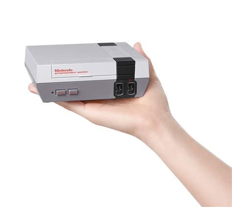 new nintendo console announced the nintendo entertainment system nes classic edition techgage