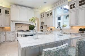 White Marble Kitchen Island 30 Beautiful White Kitchens Design Ideas Designing Idea