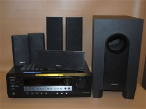 onkyo ht sr600 home theater system 5 1 channel surround