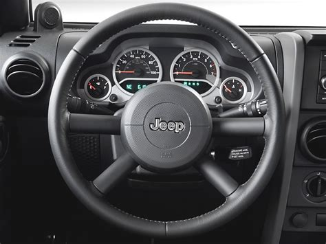 jeep steering wheel 2007 jeep wrangler road test review automobile magazine