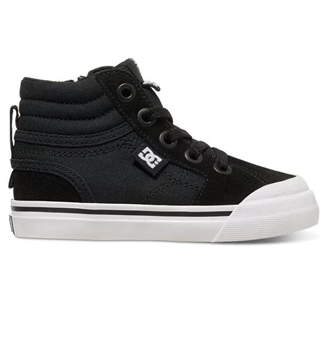 high top sneakers for toddler evan hi high top shoes 888327761060 dc shoes