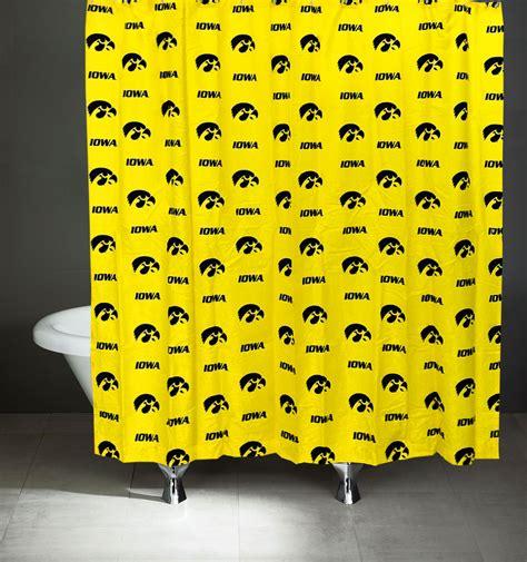 iowa hawkeye curtains ncaa iowa hawkeyes shower curtain bathroom decoration