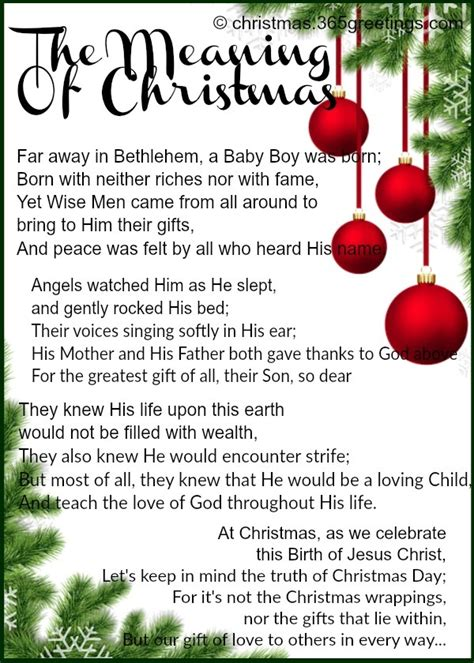 childrens christmas poems christian about trees christian poems fishwolfeboro