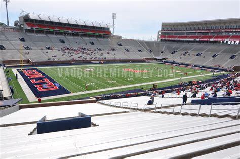 Seating Section J Vaught Hemingway Stadium Ole Miss