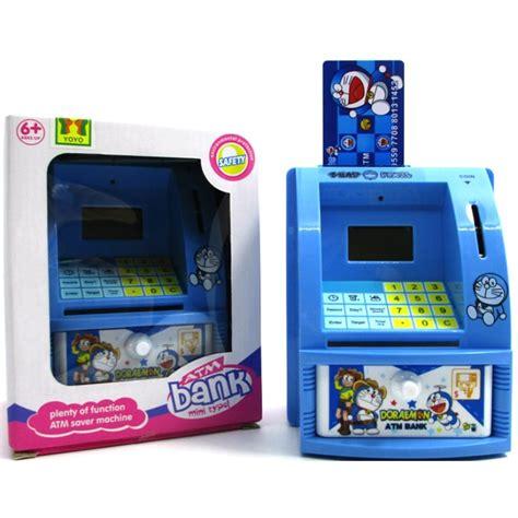 Celengan Atm Doraemon By Planetoys mainan edukatif celengan atm doraemon