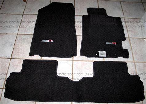 Integra Type R Floor Mats by Used Jdm Integra Dc5 Type R Floor Mats Black