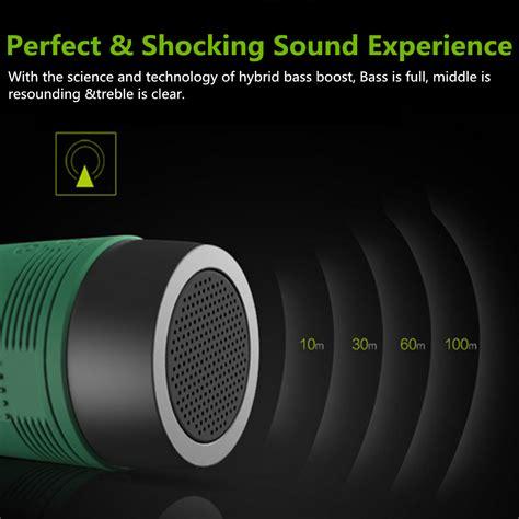 Zealot Bluetooth Speaker Waterproof Dengan Powerbank 4000mah Se T30 3 zealot s1 inal 225 mbrico bluetooth altavoz a prueba de polvo impermeable linterna fm power bank