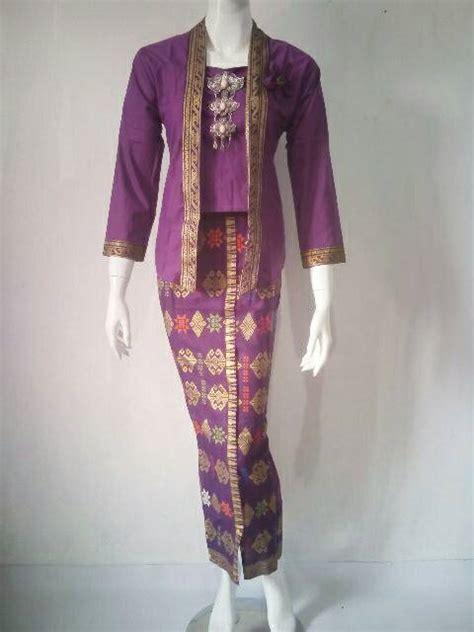 Setelan Kebaya Kutu Baru Pita Rok Songket jual setelan kebaya songket rok n blus prada batik all wear