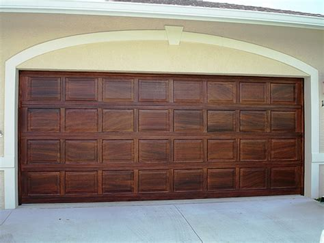 Wood Painted Garage Doors How To Paint A Wood Garage Door Woodguides