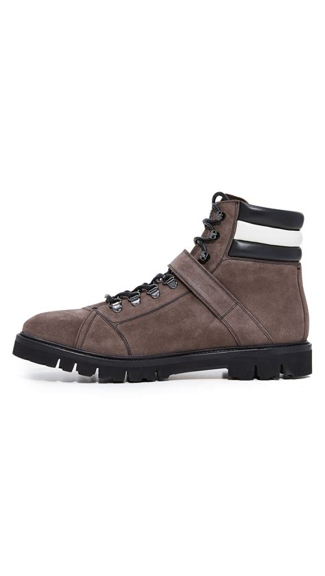Boots Bally Made In Switzerland bally chions suede hiker boots brown modesens