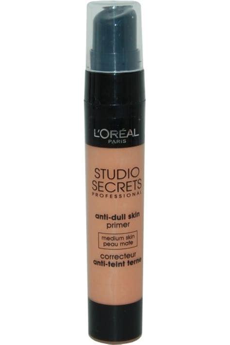 L Oreal Studio Look l oreal studio secrets anti dull skin primer 20 ml medium