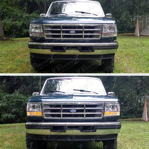 1995 f150 lights 1992 1993 1994 1995 1996 ford f150 f250 f350 bronco chrome