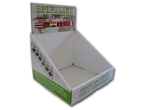 boite pr 233 sentoir de comptoir cartons 233 recycl 233