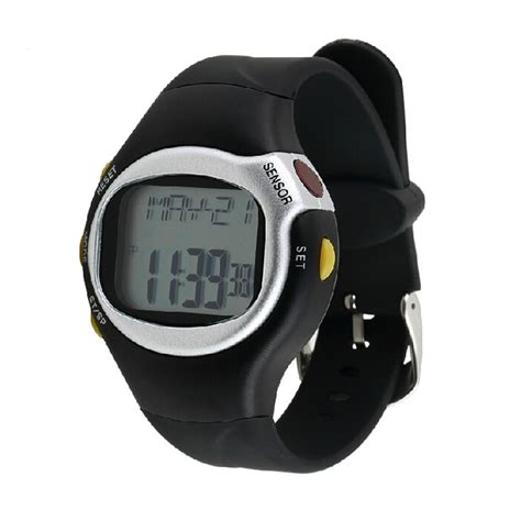 pulse rate monitor calories counter fitness
