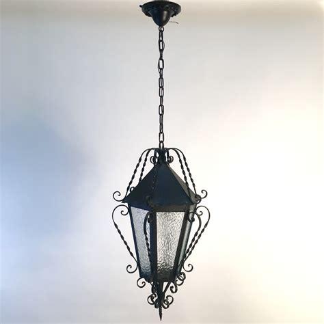 Wrought Iron Pendant Lighting Wrought Iron Lantern Pendant Light