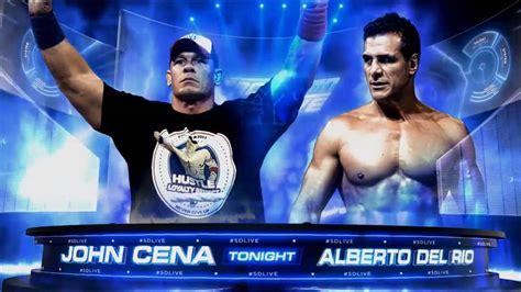 match cards tag team template cena vs alberto smackdown live 2016