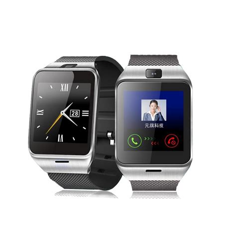 smartwatch with bluetooth smart phone with sim slot 1