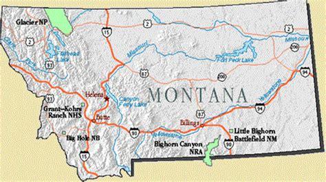 montana national parks map image gallery montana parks