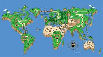 Super Mario World Maps super mario map nature s wallpapers