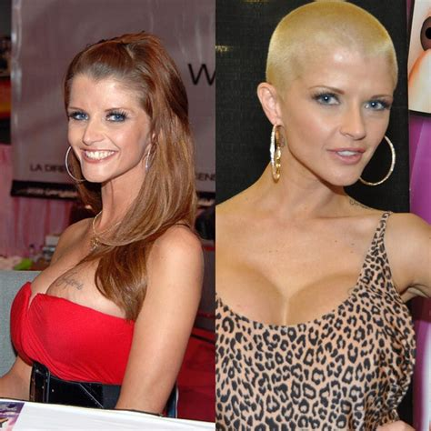 women buzz cut before and after joslyn james loved tiger woods so much she must ve wanted
