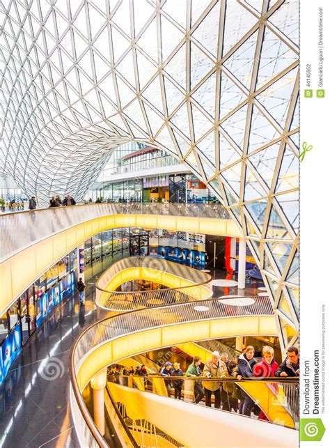 architectural features   myzeil shopping mall