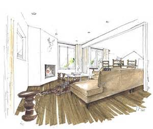 interior design rendering marker color rendering drawing hand page 2