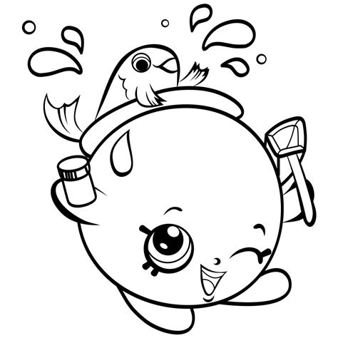 Shopkins Coloring Pages Best Coloring Pages For Kids Picture For Colouring For