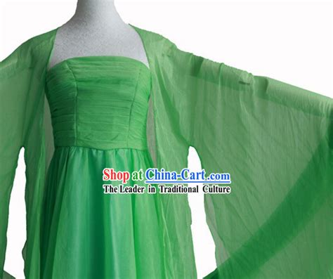 Dynasty Panci 7 Set Orange Color tang dynasty green clothes complete set