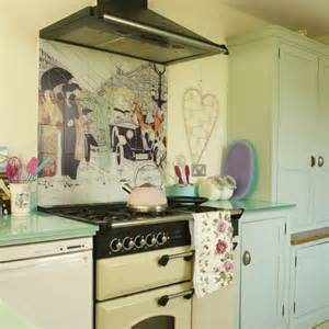 Pastel Kitchen Ideas Pictures Of Romantic Country Kitchen Decor Afreakatheart