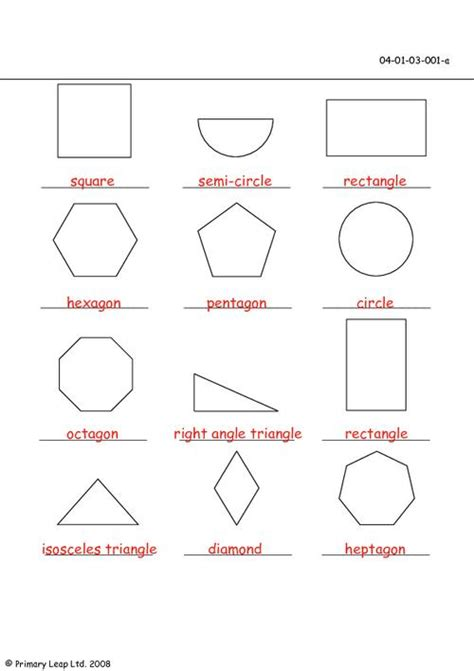 worksheets with shapes first grade first grade shapes primaryleap co uk 2d shapes