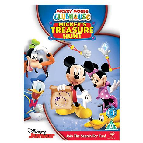 mickey mouse clubhouse official site mickey mouse clubhouse treasure hunt dvd