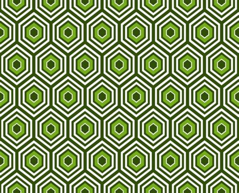 abstract pattern ai abstract pattern design green geometric seamless style