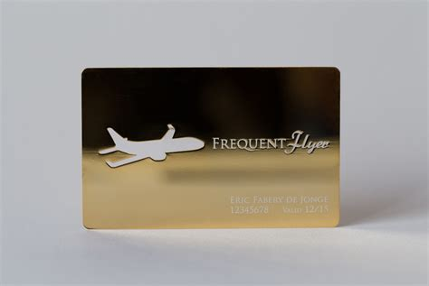 Plated Gift Card - gold plated cards