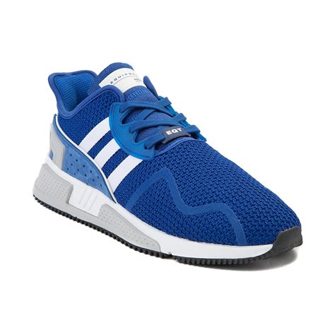 mens adidas eqt cushion adv athletic shoe blue 436486