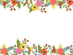 flower ppt template floral powerpoint templates border frames