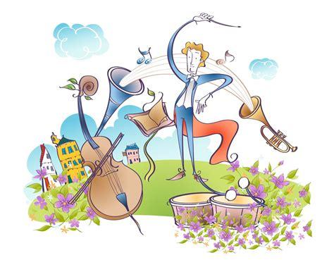 imagenes animadas musica vectorial de dibujos animados de m 250 sica 9 1280x1024
