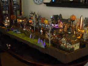 department 56 display platform halloween scene the