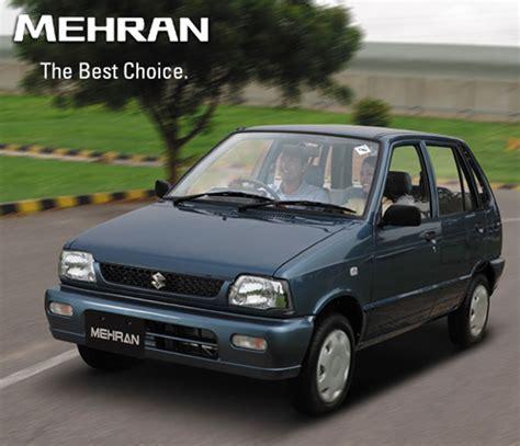 mehran new car price suzuki mehran efi ii 2013 price in pakistan