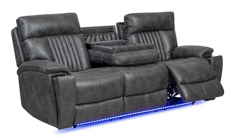 marco power reclining  piece transformer sofa set