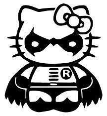 hello kitty batman coloring pages video games stickers sticky addiction