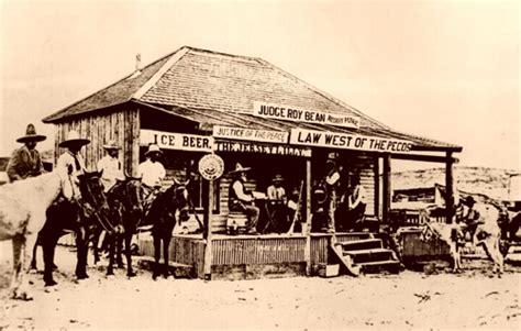 western decor old west vintage photo judge roy bean 1880 old west saloon photo gallery judge roy bean s saloon