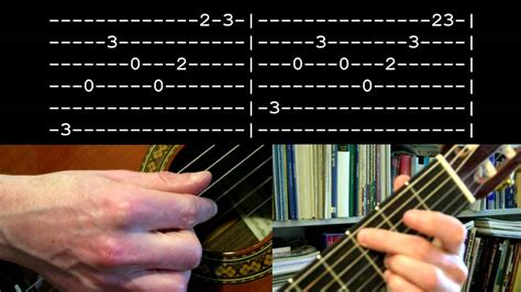 picking pattern when you say nothing at all when you say nothing at all fingerpicking