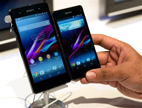 Hp Sony Xperia Z1 Mini top smartphones in 2014 reviews
