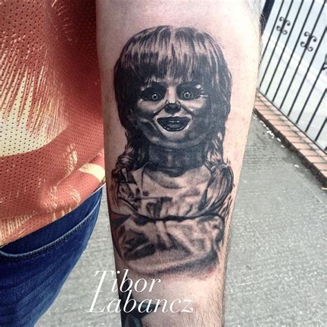 tattooed dolls instagram 17 best images about the conjuring annabelle tattoos on