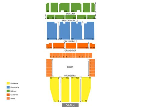 san francisco war memorial opera house seating war memorial opera house seating chart events in san
