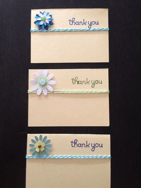 Handmade Thank You Cards - thank you cards handmade by bb handmade cards