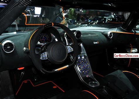 koenigsegg one interior koenigsegg one 1 debuts on the 2014 geneva auto