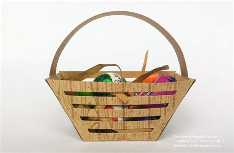 window box baskets tutorial for easter basket made with window box dies