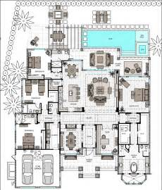 single story bed with master and suite open floor plan house plans two bedrooms hwbdo
